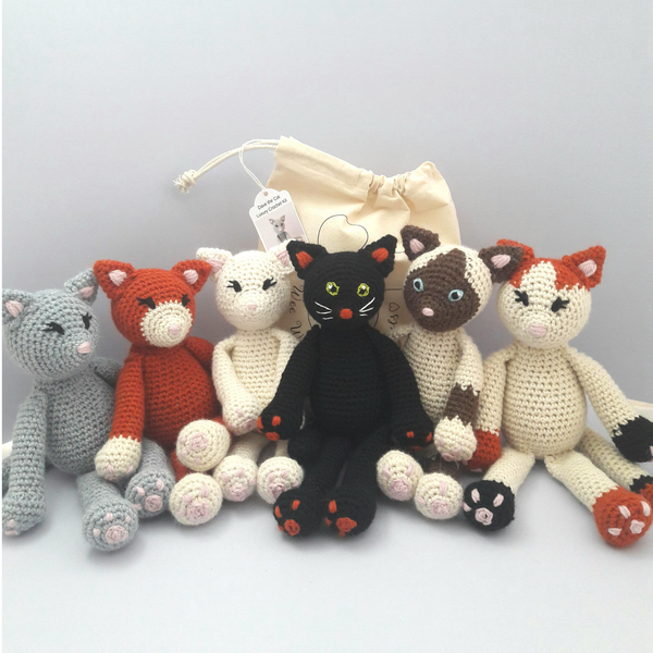 Kitty Cat Crochet Kit - choose your favourite Kitty!