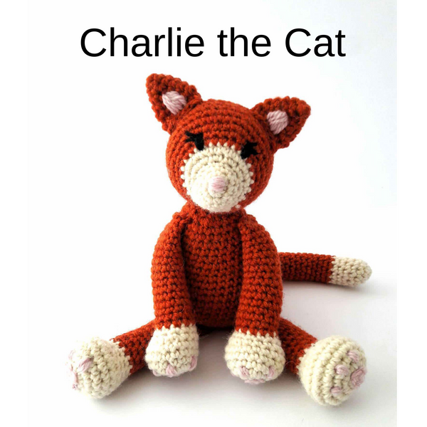 PDF Crochet Pattern - The Kitty Cats!