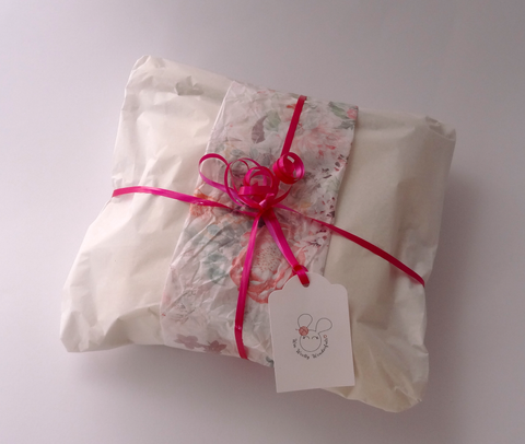 Gift wrap and personalised message
