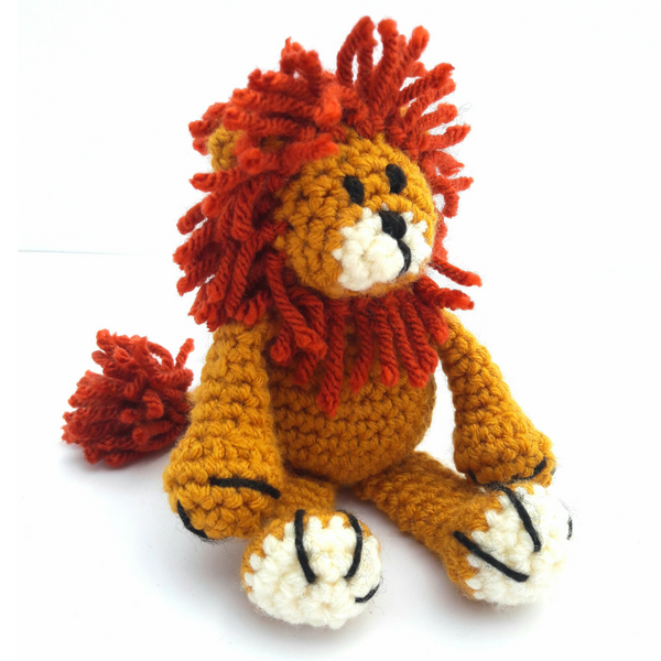 Baby Lion Mini Crochet Kit
