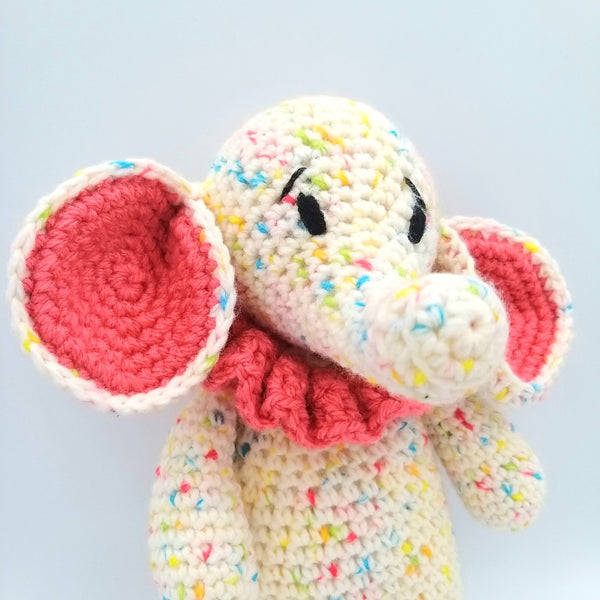 Special Edition Jelly Tots and Baby Dots Elephants Crochet Kit