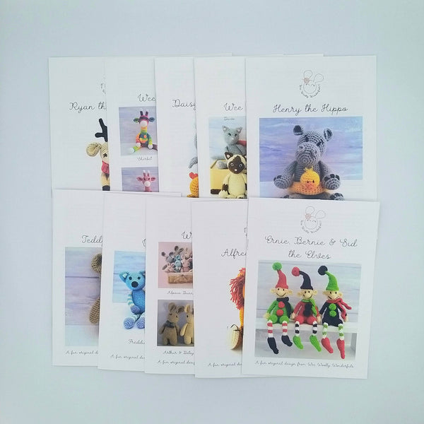 Printed Pattern Booklets
