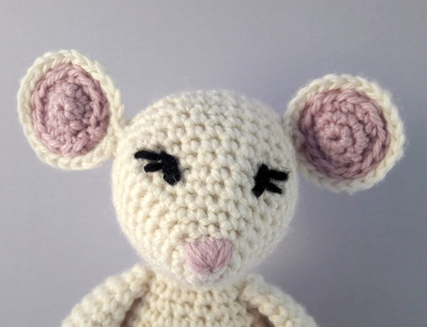 PDF Crochet Pattern - Milo & Molly the Mice