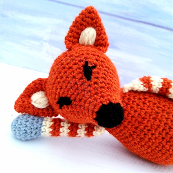 PDF Crochet Pattern - Flash, Freddie & Flossie the Fox Pattern