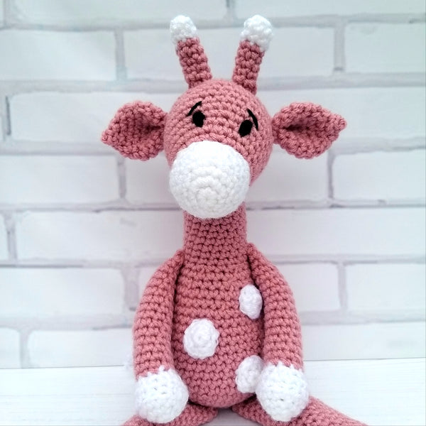 PDF Crochet Pattern - Aimee the Giraffe