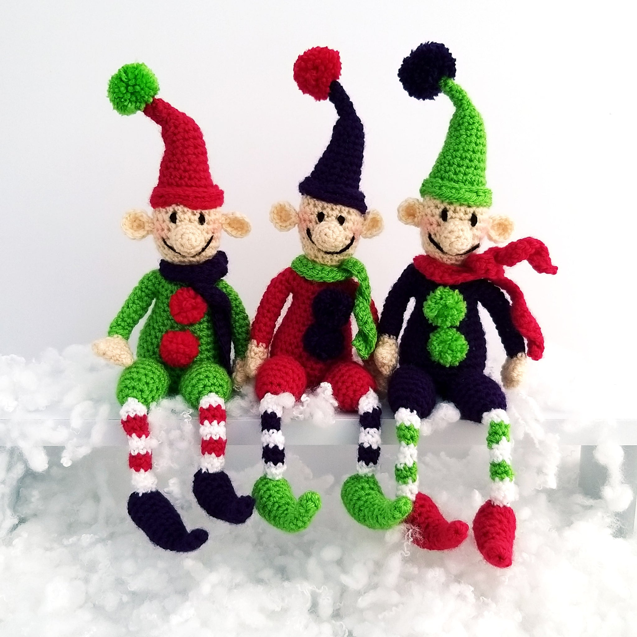 Christmas Elves Kit - Ernie, Bernie & Sid