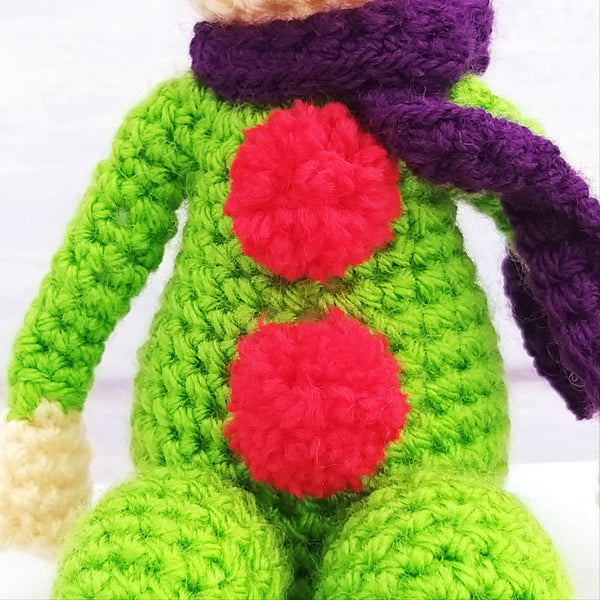 PDF Crochet Pattern - Christmas Elves