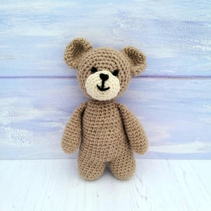 PDF Crochet Pattern - Teddy the Bear