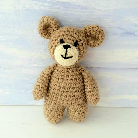 PDF Crochet Pattern - Baby Bear