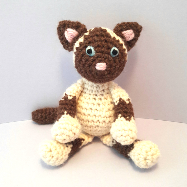 PDF Crochet Pattern - The Baby Kittens!