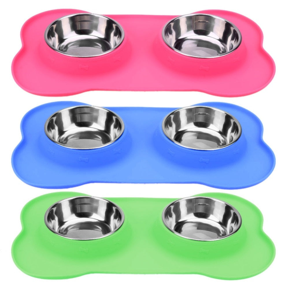 fcaf9a05b Dog bowls | steel bowls | food container | feed bowl | anti slip ...