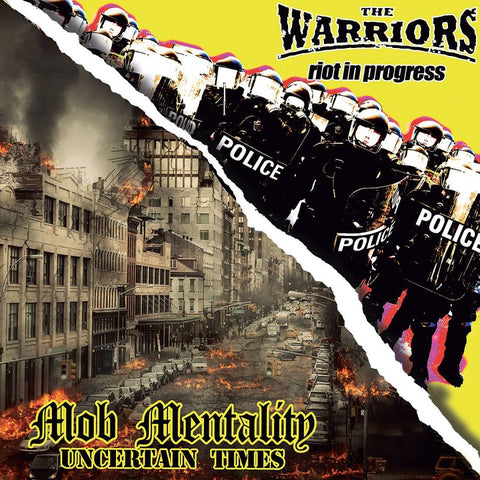 The Warriors / Mob Mentality  - Brothers in Oi! [7' Split EP, import]