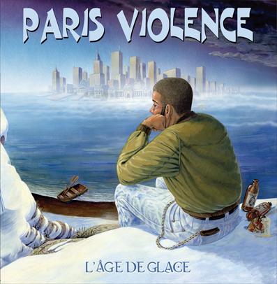 Paris Violence - L'âge de glace [12' LP,IMPORT, blue]