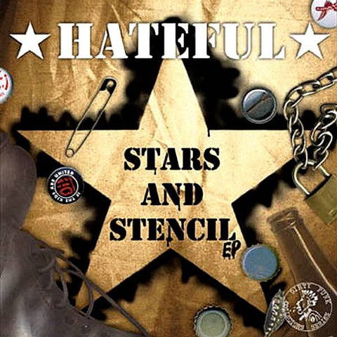 "Hateful - ""Stars and stencil  7' EP [Import]"