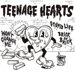 Teenage Hearts - S/T 7' EP [Import]