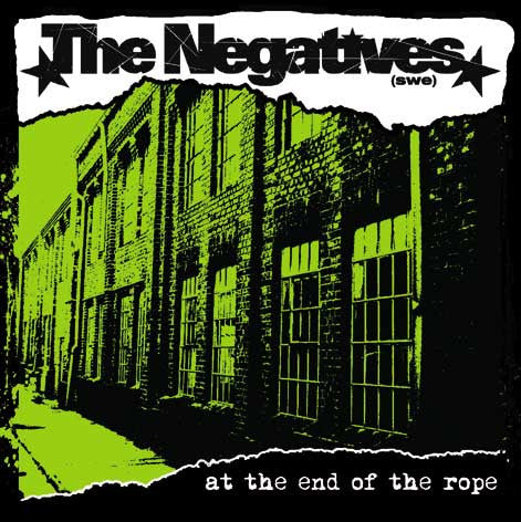 The Negatives - At The End Of The Rope CD
