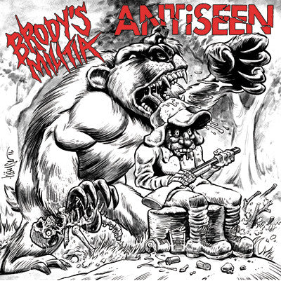 ANTiSEEN / Brody's Militia - The Primal Roar Split 7'