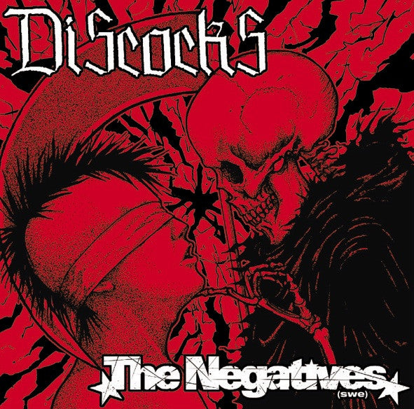 Discocks/The Negatives SPLIT CD