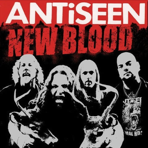 ANTiSEEN - NEW BLOOD 12' LP (2nd Press Blue Vinyl)