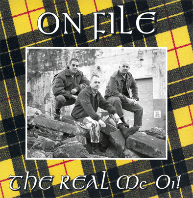 On File - The Real Mc Oi! [12' LP, import]