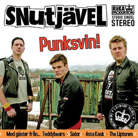 Snutjävel - Punksvin CD [single]