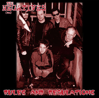 The Negatives - Rules And Regulations CD