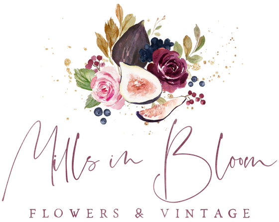Mills in Bloom Flowers & Vintage