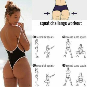 Squat challenge workout! Will you try it?
