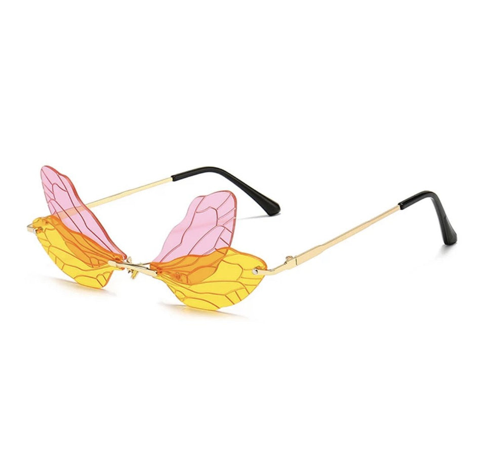 Fairy wing glasses