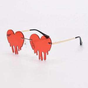 Drip Heart Glasses