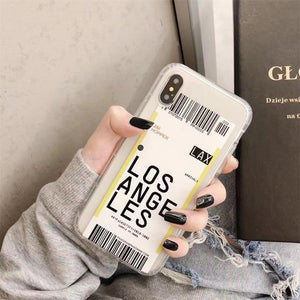 Travel Barcode Case iPhone