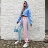 """Blue Pink"" TROUSERS"