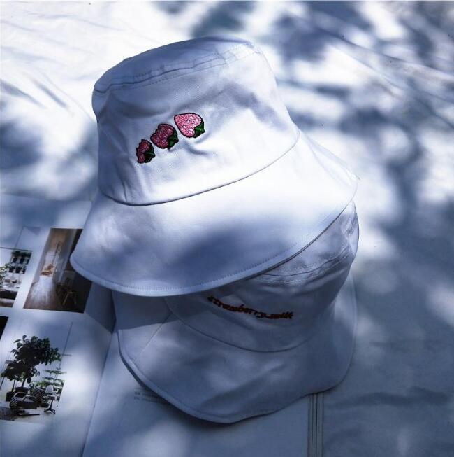 Strawberry Bucket Hats