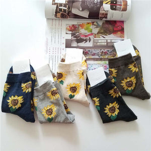 Sunflower socks