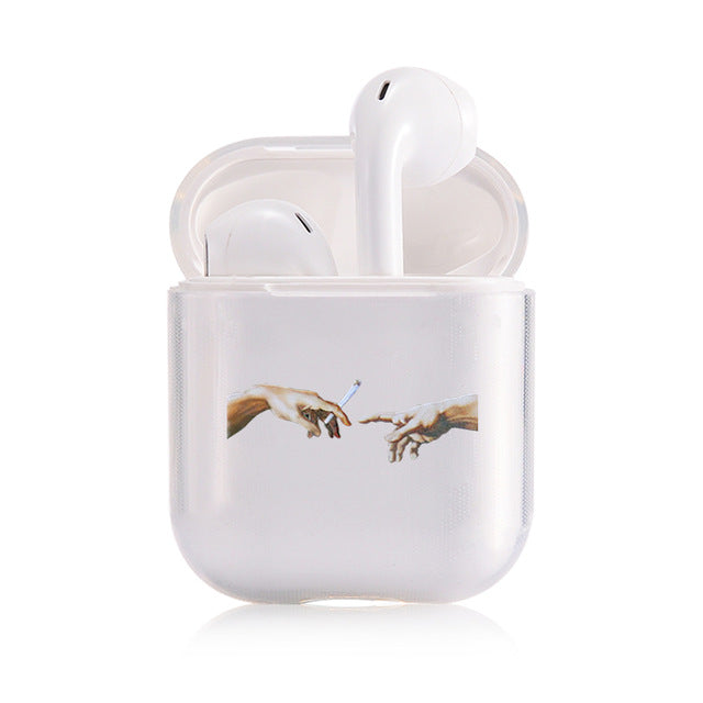 Hands Airpod Case
