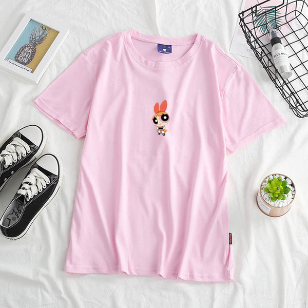 Powerpuff girls t-shirts - 5 designs