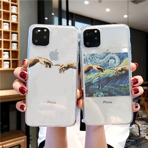 Michelangelo Hands Case