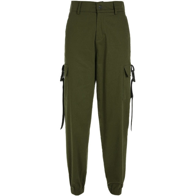 Women Cargo Pants With Pockets.