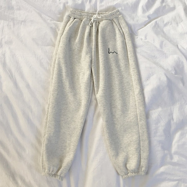 """wave"" sweatpants"