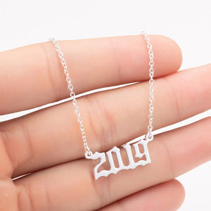 Year Necklace