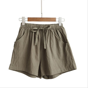 Casual Linen Shorts