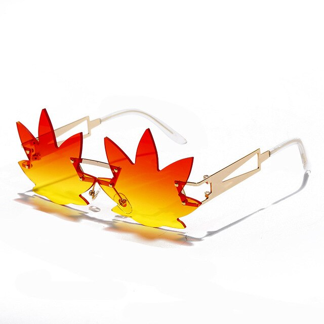 Leaf glasses
