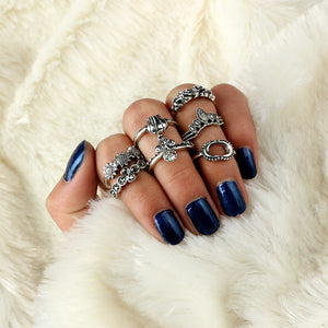 Style Silver Ring Sets