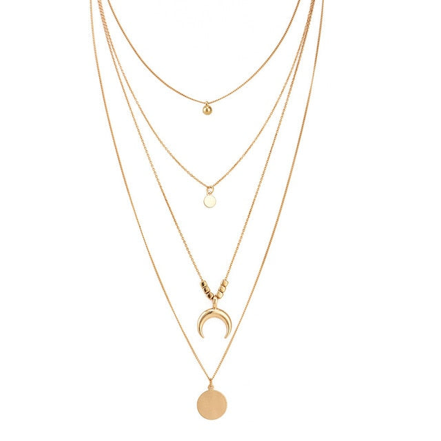 Necklaces For Women Multi Layer