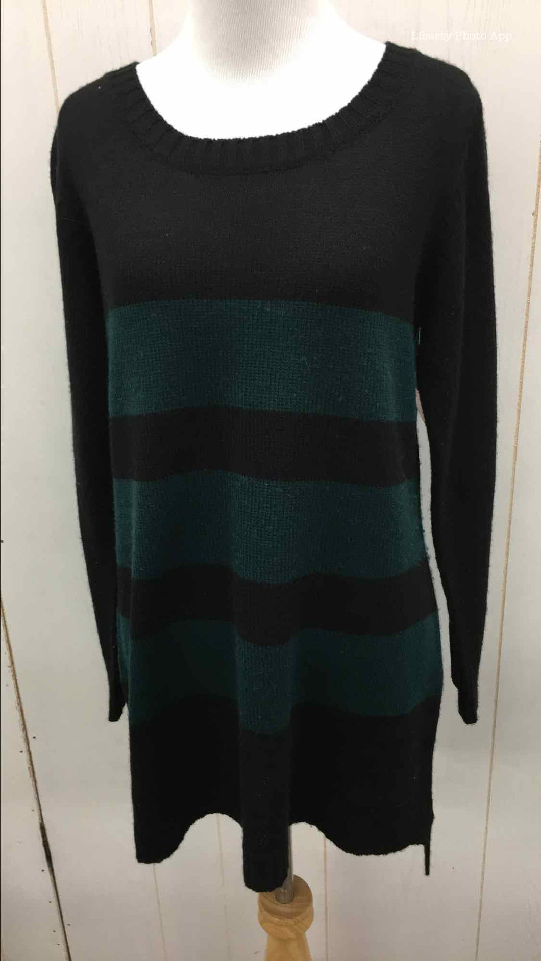 AB Studio Black Womens Sweater Medium