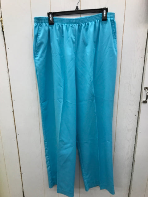 Alfred Dunner Blue Womens Size 18 Pants