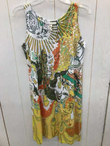 Yellow Womens Size 6/8 Dress