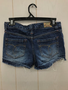 Blue Womens Size 3 Shorts