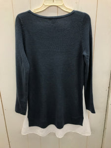 Belle & Sky Blue Womens Size M Sweater