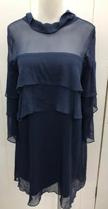 Navy Womens Tunic Blouse
